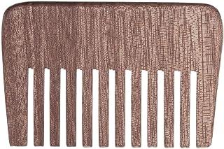 あごひげケア 美容ツール コーム ヘアブラシ 頭皮マッサージ 頭部血行促進 静電気防止 への プレゼント 頭皮マッサージ ヘアスタイリング用品 (寛歯)