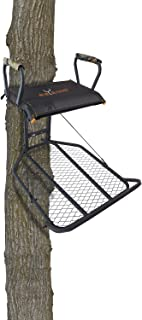 GSM Outdoors Big Game Captain XC Hang On Treestand, Black, 20lb