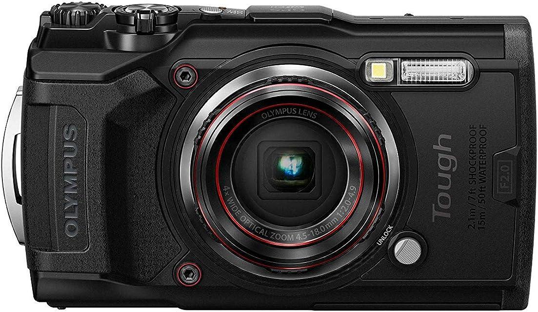 Olympus Tough TG-6 cámara de acción 12 megapíxeles vídeo 4k 120fps Negro