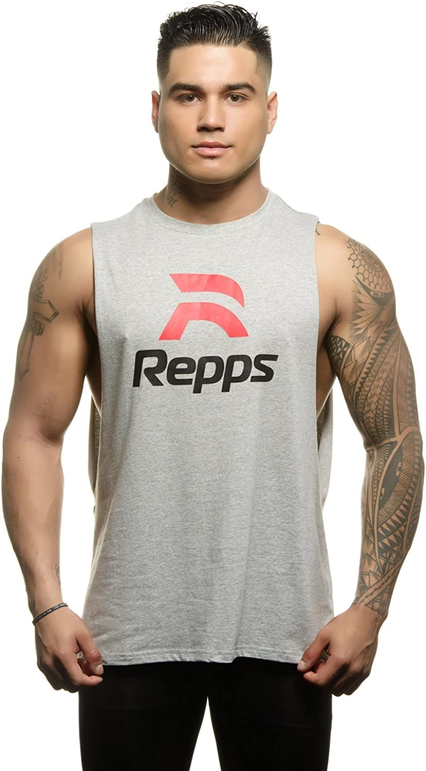 outlet shopping Repps Workout Cut Off Shirts for Muscle The Men Perfect Shirt