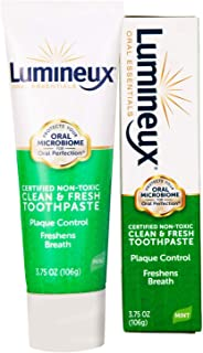 Lumineux Oral Essentials Toothpaste | Fresh Breath | Fluoride Free, Certified Non Toxic | NO Artificial Flavors, Colors, S...