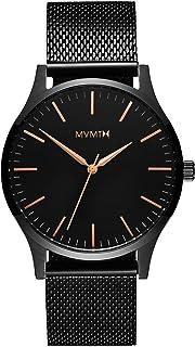 MVMT - Reloj analógico para hombre de la serie 40 (1.575in, correa de malla de acero inoxidable)