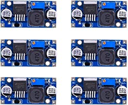 eBoot 6 Pack LM2596 DC to DC Buck Converter 3.0-40V to 1.5-35V Power Supply Step Down Module (6 Pack)
