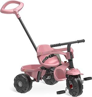 Triciclo Smart Plus Bandeirante Rosa