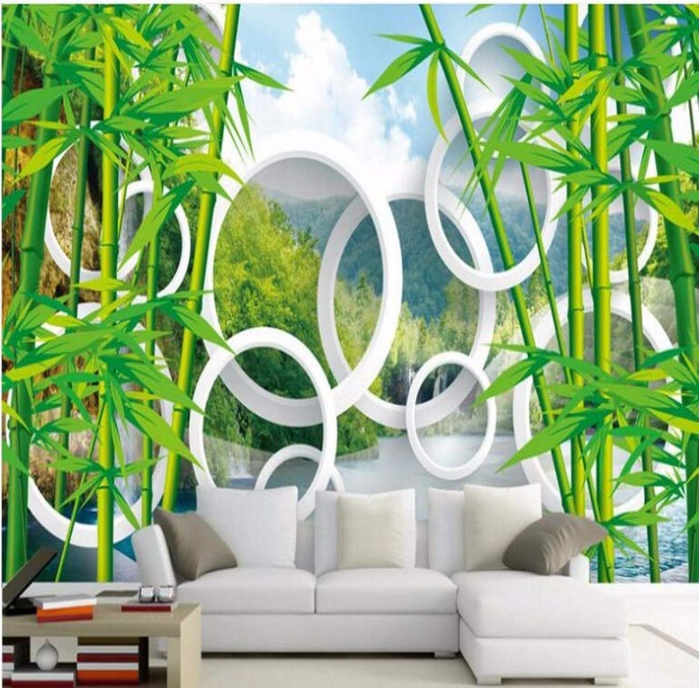 artículos novedosos Rureng Murales A Gran Escala Personalizados Paisaje Paisaje Paisaje De Bambú Papel Tapiz De Papel Tapiz De Fondo 3D Tv Fondo De Parojo Para Parojoes 3 D-200X140Cm  la calidad primero los consumidores primero
