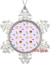 Beauty Seamless Floral Pattern Christmas Ornaments,Christmas Tree Decoration Ornaments,Christmas Keepsake 2020 Xmas Gifts ...