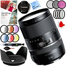 Tamron 16-300mm f/3.5-6.3 Di II VC PZD Macro Lens for Canon EF-S Cameras Bundle with 67mm Filter Sets, 67mm Lens Hood and Accessories (5 Items)