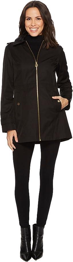 Zip Front Raincoat M722069B74