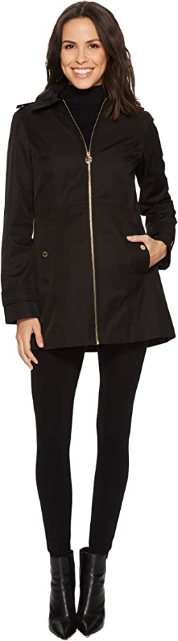 MICHAEL Michael Kors - Zip Front Raincoat M722069B74
