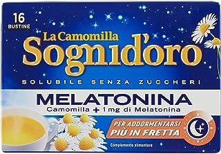 Star S.P.A. Sogni D'Oro Camomilla Solubile con Melatonina, 16 Bustine, 64g