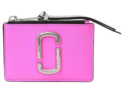 Marc Jacobs Snapshot Flouro Top Zip Multi Wallet