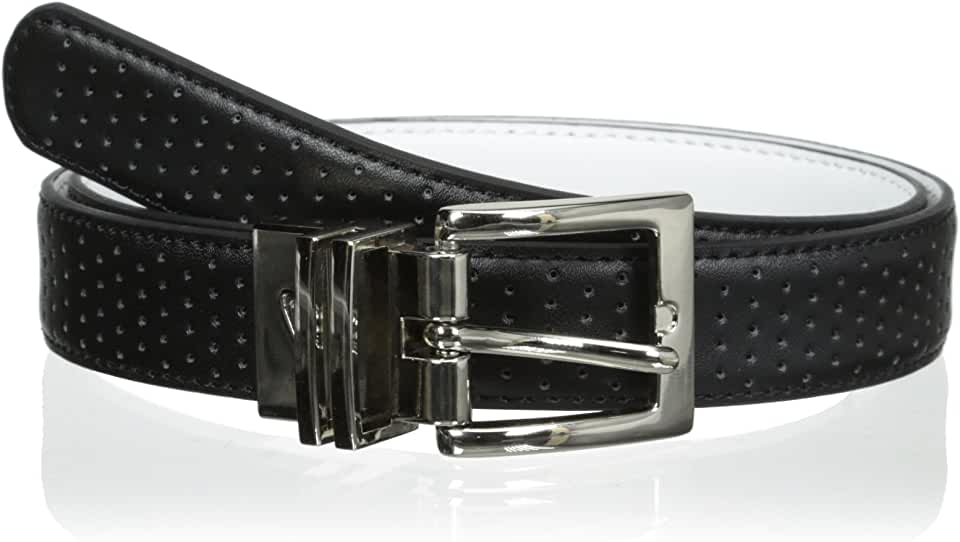 Nike Women's Perforated-to-Smooth Reversible Belt