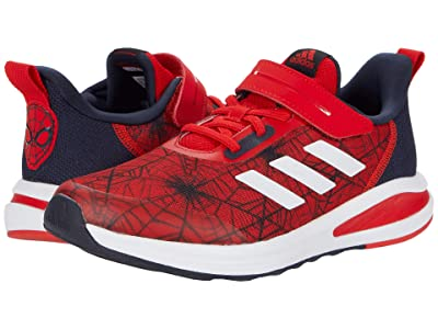 adidas Kids FortaRun EL Marvel Spider-Man (Little Kid/Big Kid) (Vivid Red/Legend Ink/Footwear White) Boys Shoes
