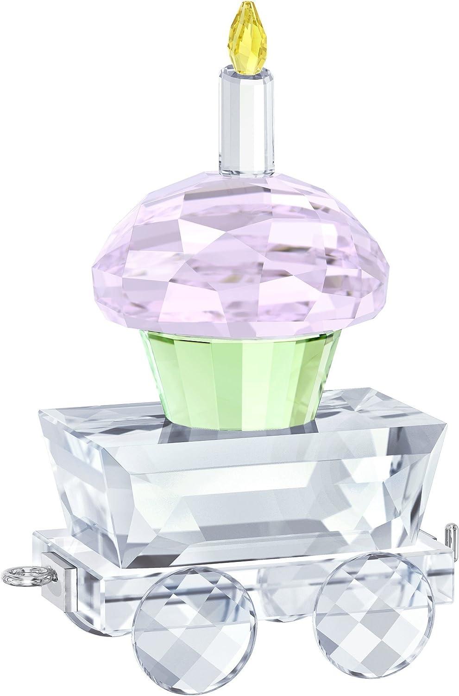 Swarovski Crystal  Cupcake Wagon  Figurine New 2018