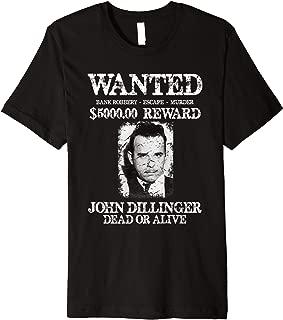 Best john dillinger shirt Reviews
