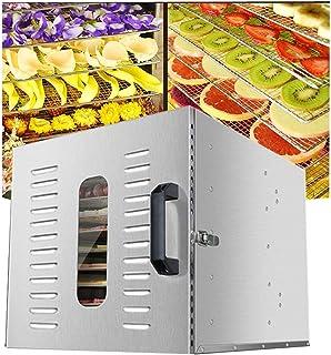 Déshydrateur pour aliments, dessiccateur intelligent pour corps et fruits frais et séchés, séchoir à grille à 8 couches