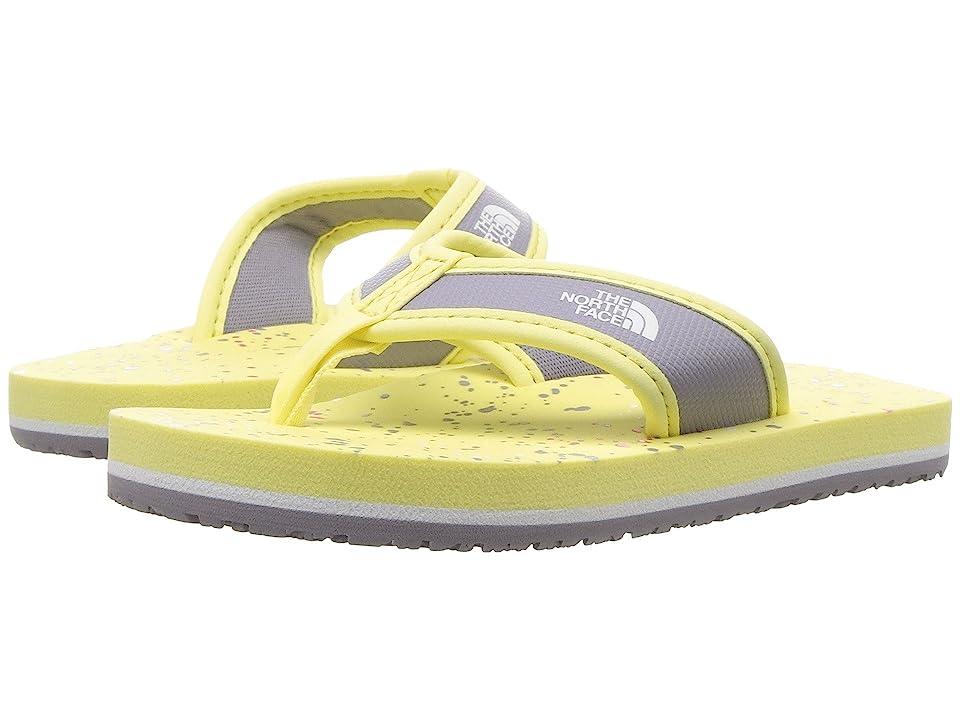 The North Face Kids Base Camp Flip-Flop (Toddler/Little Kid/Big Kid) (Yellow Pear/Minimal Grey (Prior Season)) Kids Shoes