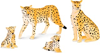 Terra and B Toys, Cheetah Family, Multi Color