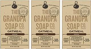 The Grandpa Soap Company The grandpa soap company oatmeal (4.25oz) (3-pack)