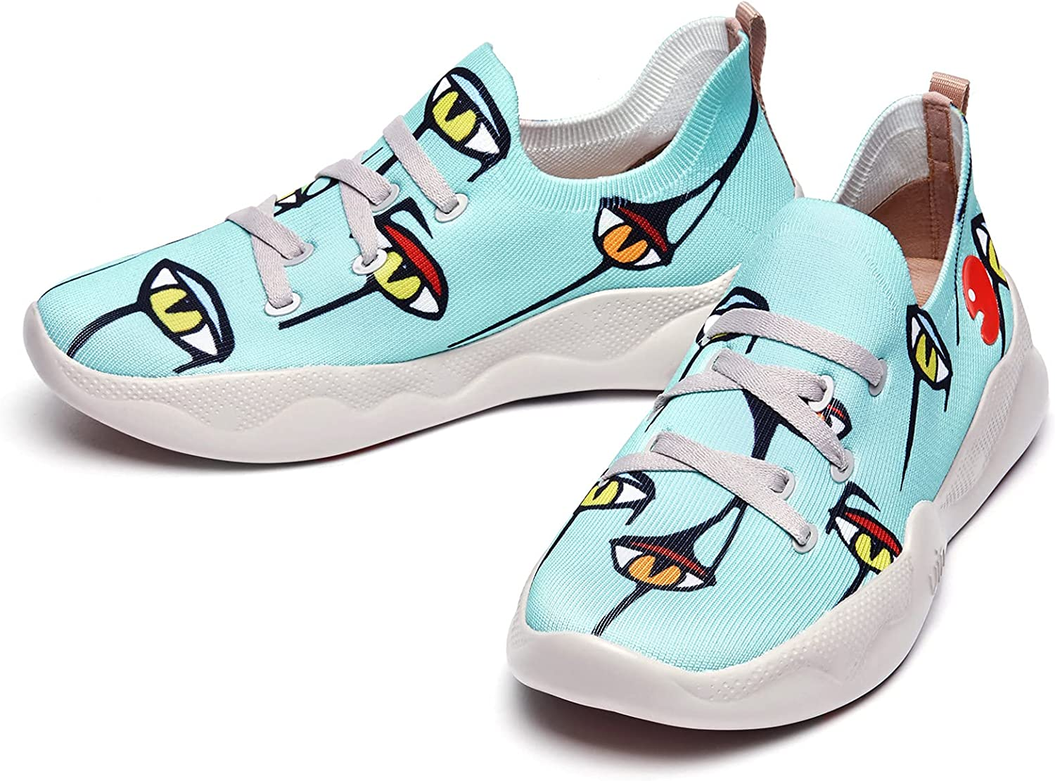 UIN Max 60% OFF Women's Fashion Sneakers Fashionable Lightweight Walking Ons Casual Slip