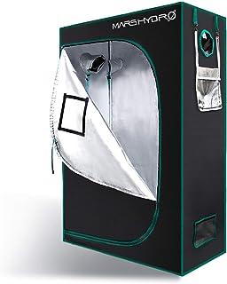 "MARS HYDRO 4x2 Grow Tent Durable 1680D Canvas Reflective Grow Tents 2x4 Mylar Hydroponic Indoor Plant Grow Room 48""x24""x70"" Growing Tent Fits SP 250/TSL 2000W LED Grow Light"
