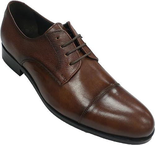 Zapato clásico Vestir Hombre con Cordones Tolino en Cuero