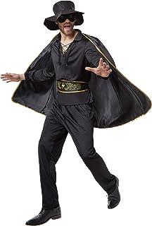 dressforfun 900531- Disfraz de Hombre Zorro, Traje de El Zorro Negro (S | No. 302660)
