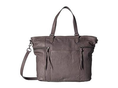 Lucky Brand Kean Tote (Steely) Handbags