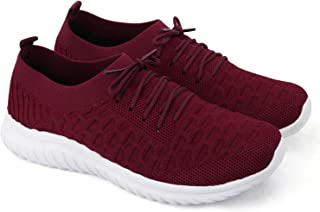 Dios Women's Knitted Socks Ultra-Lightweight, Breathable, Walking, Running Running Shoes Fabric Sports Shoes