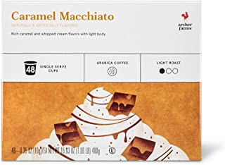 Archer Farms K-cup Caramel Macchiato Light Roast Coffee 48 Pods, pack of 1