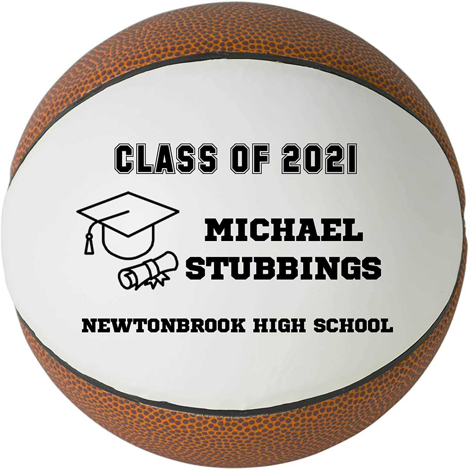 Personalized Custom 4 years warranty OFFicial store Graduation 2021 Basketball - Clas