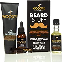 Woody's Beard Stuff Kit - Includes Beard Wash, Conditioner, and Oil
