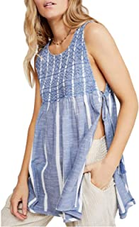 Free People Women's Smocked Tank