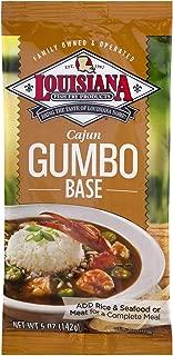 Louisiana Fish Fry, Cajun Gumbo Base, 5 oz (Pack of 24)