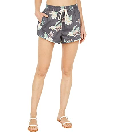 Billabong Night Sesh Volley Shorts (Black Pebble) Women