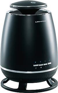 Ultratec 33140000271 Función 360 Grados, para Calentar en Todas direcciones, Calefactor con 2 Niveles de Potencia de 900 1800 vatios más Ventilador, W, 240 V, Negro