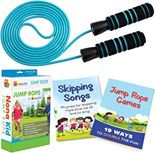 Adjustable Jump Rope – for Kids and Adults – Easily Adjustable with Anti-Slip..