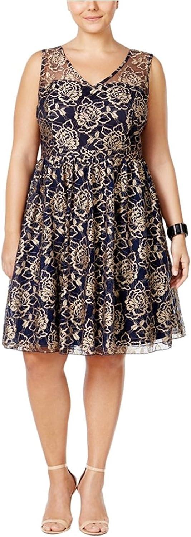 American Rag Womens Floral ALine Dress