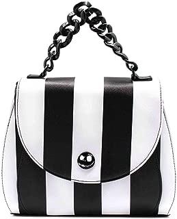 Nightmare Before Christmas Women's Striped Saddle Crossbody Bag