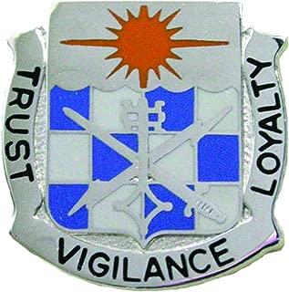 101st Military Intelligence Battalion Unit Crest (Trust Vigilance Loyalty)