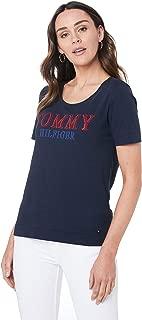 TOMMY HILFIGER Women's Organic Cotton Logo T-Shirt