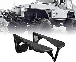 u-Box Jeep TJ Front Flat Fender Flares Steel Kit for 1997-2006 Wrangler TJ