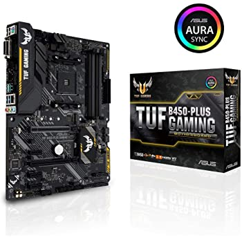 ASUS AMD B450搭載 AM4対応 マザーボード TUF B450-PLUS GAMING【ATX】【 第3世代 AMD Ryzen CPU に対応】