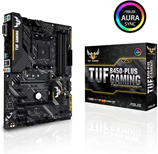 ASUS AMD B450搭載 AM4対応 マザーボード TUF B450-PLUS GAMING【ATX】【 第3世代 AMD Ryzen CPU に対応】