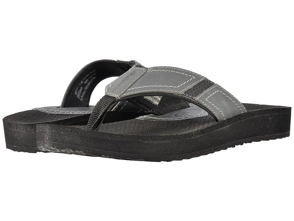 Dunham Carter Flip-Flop (Grey) Men