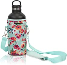 Made Easy Kit Neoprene Water Bottle Carrier Holder Bag Pouch with Adjustable Shoulder Available in Four Different Sizes