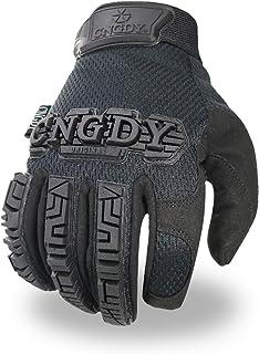 Mens General Utility Light Safety Work Gloves Anti-Impact Duty Mechanics Rescue Equipment...