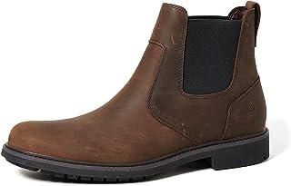 Timberland Stormbuck Chelsea Boots 5552R Dark Brown Size