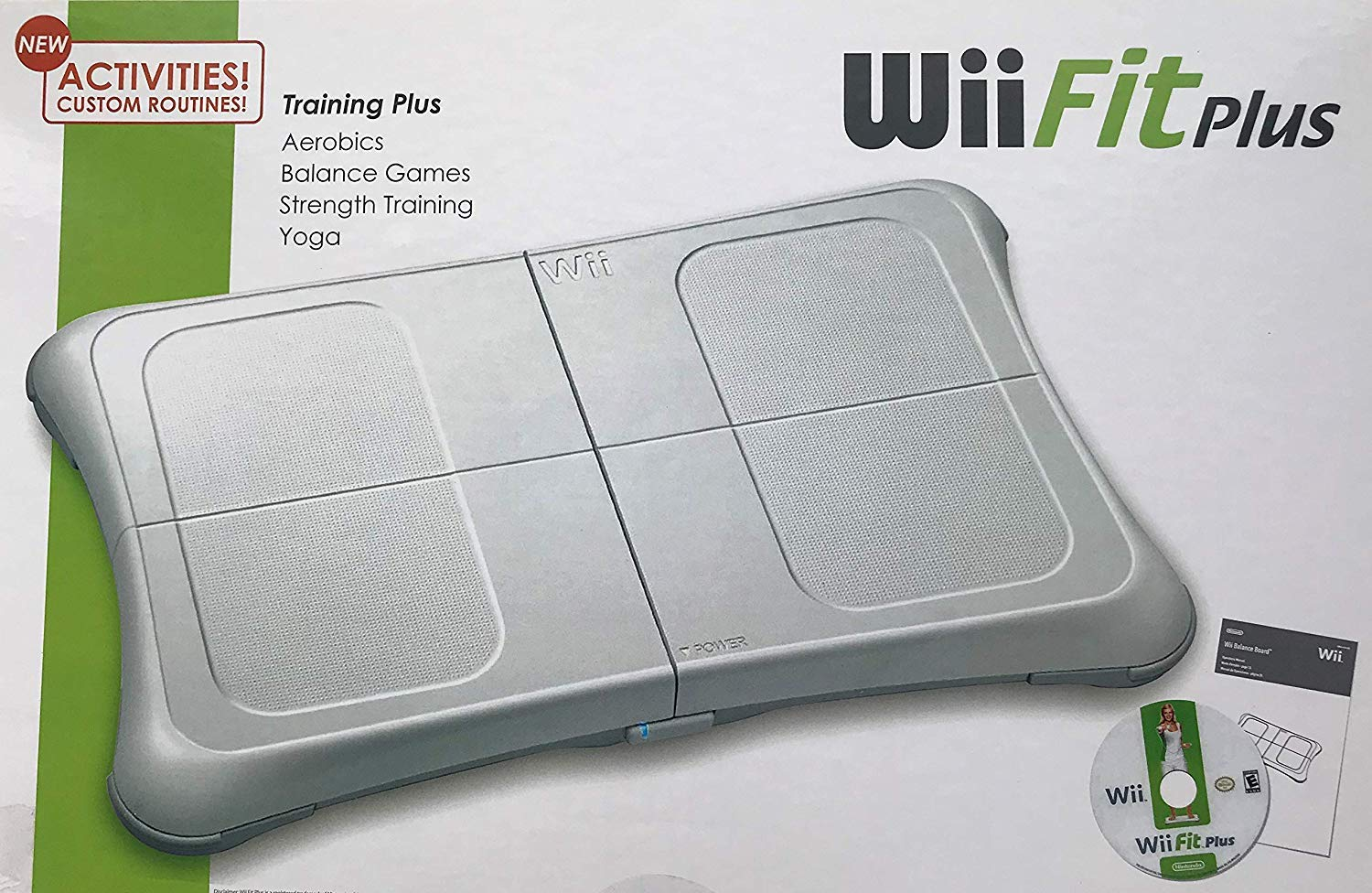 Amazon.com: Wii Fit Plus with Balance Board (New, Brown Box ...