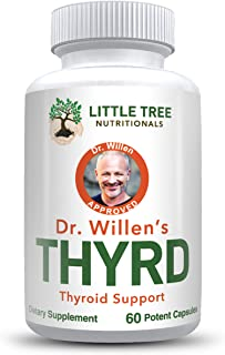 Sponsored Ad - Dr. Willen's Thyroid Support Supplement – 60 Capsules, To Balance Hormones to Increase Energy Level, Metabo...